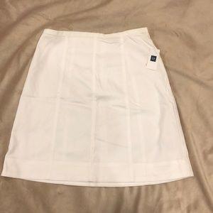 Whit cotton skirt NWT